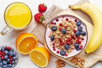 اشتهای زیاد برای خوردن صبحانه