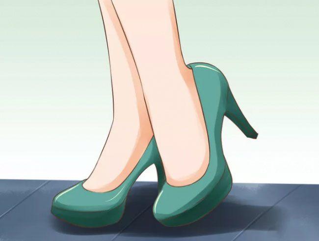 کفش پاشنه بلند را راحت و بدون درد بپوشید