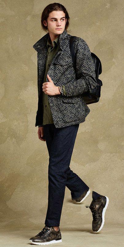 مدل های شیک لباس مردانه از برند Tods