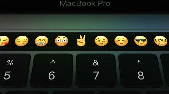 مک بوک پرو با Touch Bar خودنمایی می کند