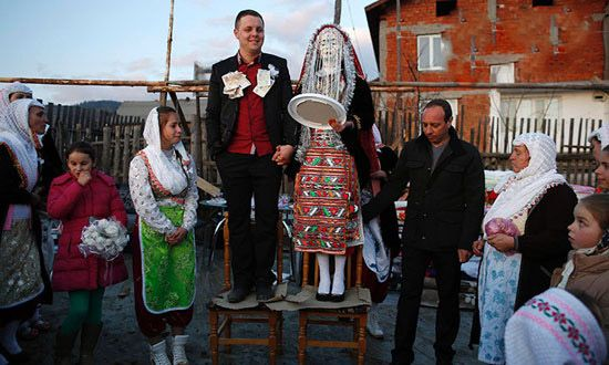 جالب ترین لباس عروس ها در کشورهای مختلف