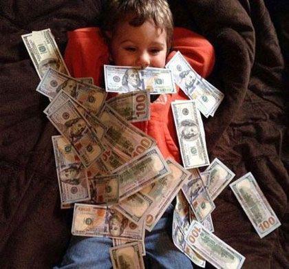 روان شناسی ولخرجی و پس انداز پول در کودکان