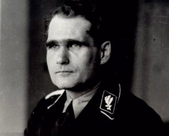 رودلف هس معاون هیتلر که بود و چه کرد؟