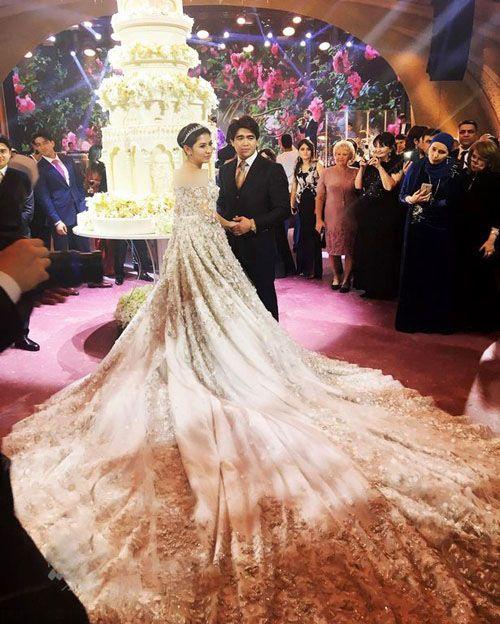 گرانترین مراسم عروسی تاریخ جهان +عکس