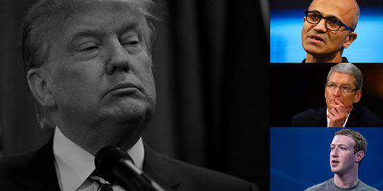 دونالد ترامپ با تکنولوژی و فناوری دشمن است