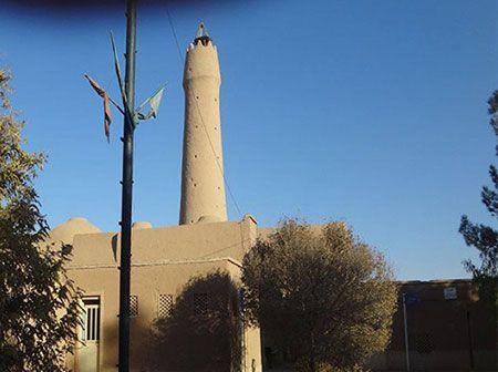 معرفی مسجد جامع فهرج در شهر یزد