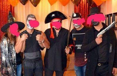 عکس لو رفته از پارتی مختلط هالووین در تهران