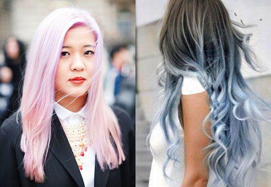 رنگ موهای جذاب به سلیقه ستاره های مد جهان