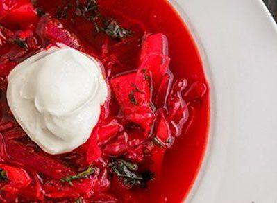 طرز تهیه سوپ برش از آسیای شرقی