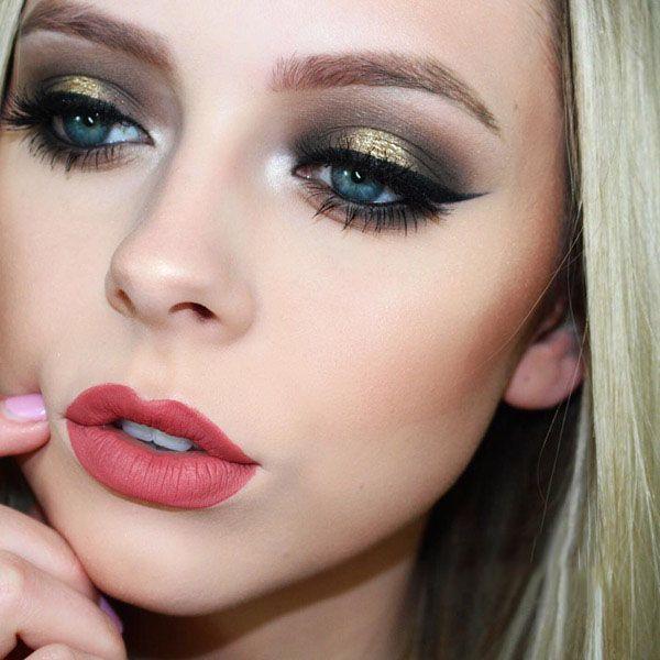 مدل های ملایم آرایش صورت از Haley Wight