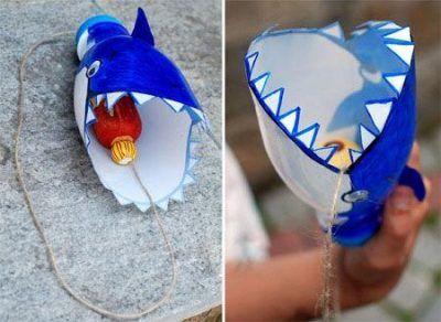 آموزش کاردستی زیبای نهنگ و ماهی
