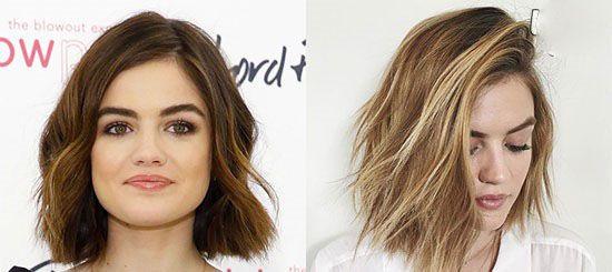 زیباترین مدل موهای زنان هالیوود +رنگ مو