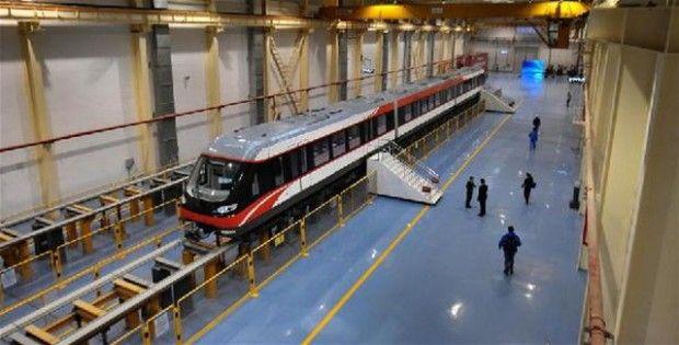 رکورد سرعت قطار شهری در چین شکسته شد