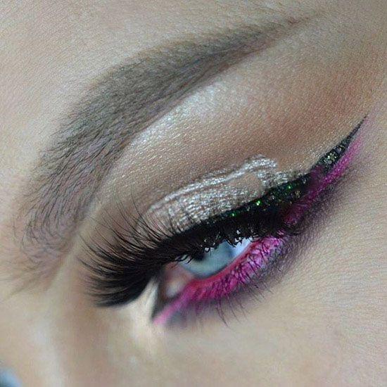 بهترین مدل آرایش چشم و ابرو از Urszula Daszewska