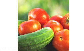 توصیه های نگهداری از خیار و گوجه فرنگی