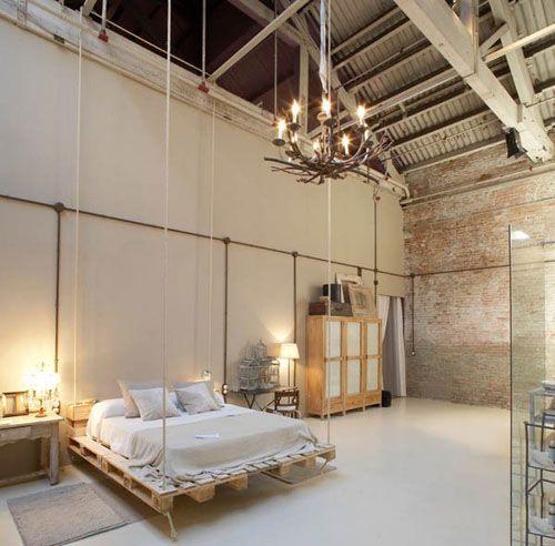 مدل های تختخواب ساخته شده از پالت