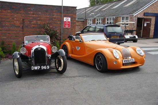 عکسهای ماشین های کلاسیک در کنار مدل مدرن