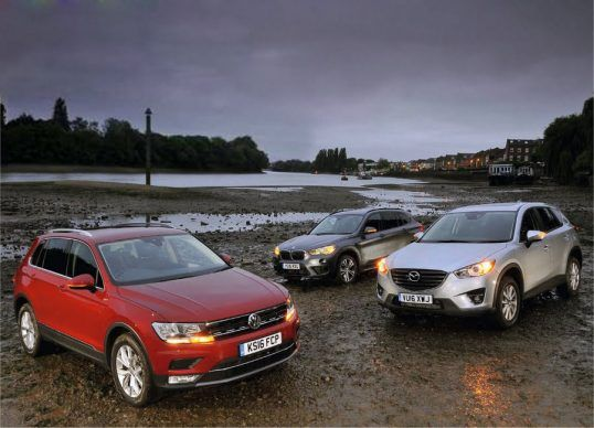 رقابت داغ بین سه خودرو از BMW مزدا و فولکس