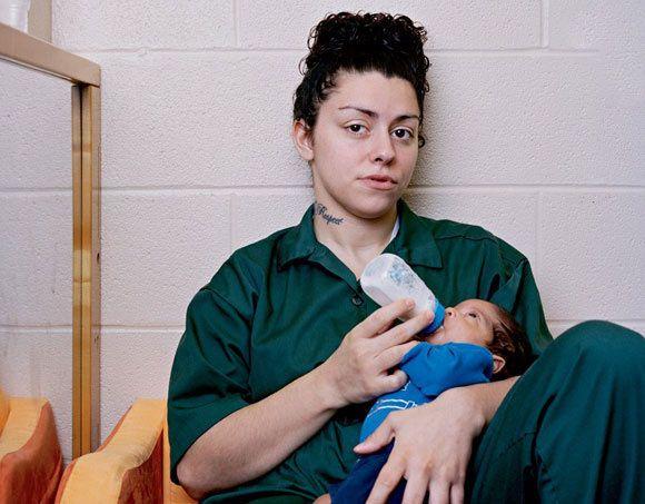 عکس های اوضاع زنان زندانی در کشور آمریکا
