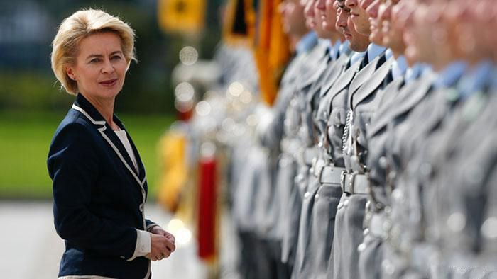 عکس های دختران زیبا در ارتش آلمان را ببینید