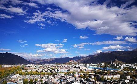 سرزمین بهشتی و زیبا را در تبت چین ببینید