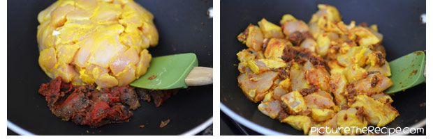 آموزش تهیه کرما چیکن غذای هندوستان