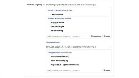 فیس بوک به تبعیض نژادی محکوم شد