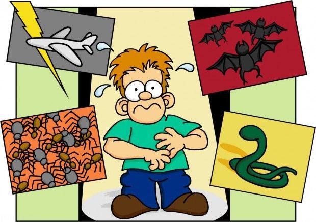 فوبیا چیست و انواع فوبیا یا ترس را بشناسید