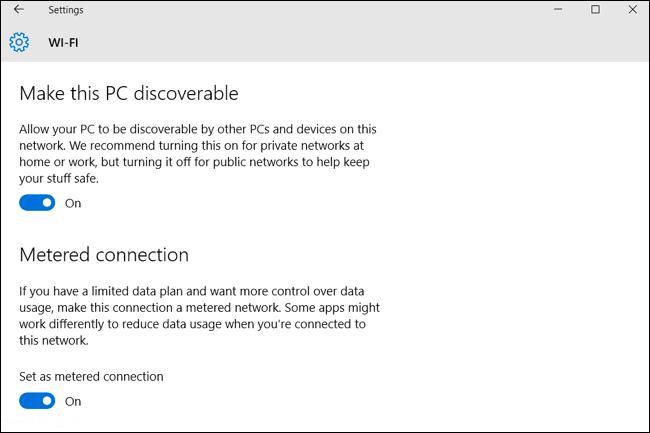 ترفند کاهش مصرف اینترنت در ویندوز 10