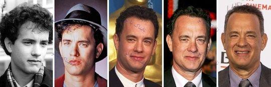 عکس چهره بازیگران مشهور از جوانی تا بزرگسالی