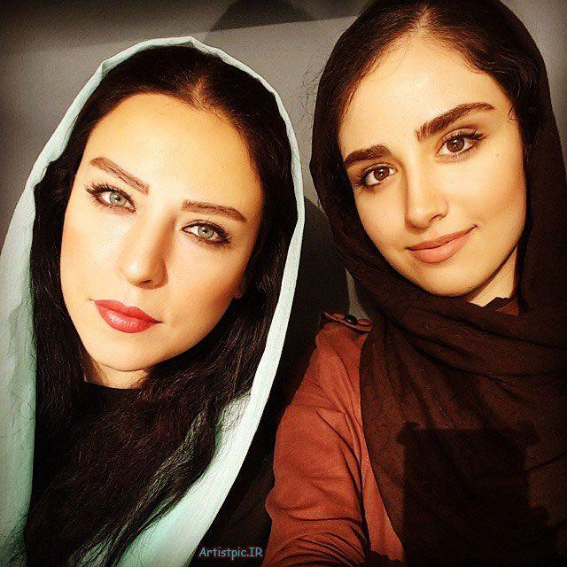 مادر و دختر زیبا و جوان که هر دو بازیگر هستند