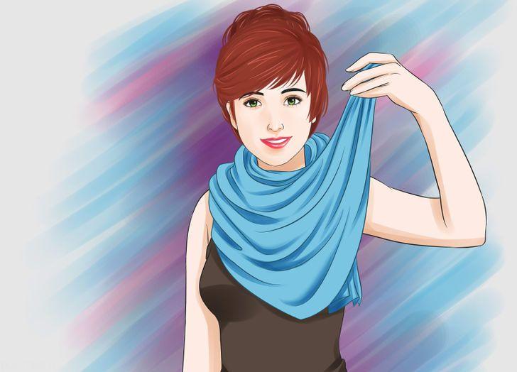 آموزش بستن شال گردن برای خانم ها -سری جدید