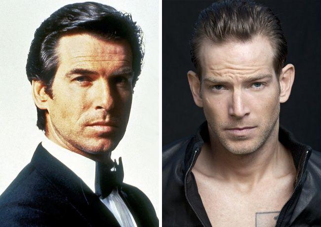 عکس های بازیگران پدر و پسر که شبیه هم هستند