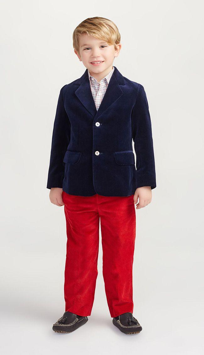 لباس پاییزی پسرانه برند Oscar De Larenta
