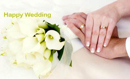 کارت پستال تبریک ازدواج و عروسی زوج ها