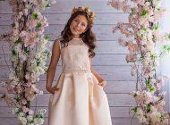 مدل لباس مجلسی بچه گانه دخترانه Valentina Gladun
