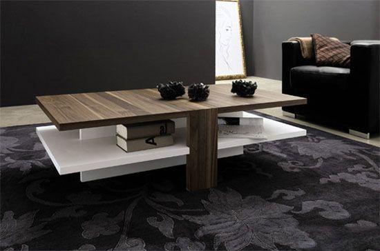 انواع بهترین مدل های میز پذیرایی چوبی