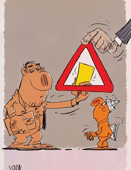 جالب ترین کاریکاتورهای روز زیبا و دیدنی (3)