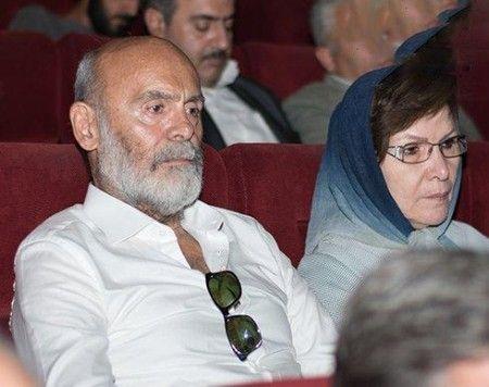 تصاویر جمشید هاشم پور به همراه همسر