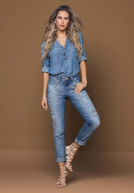 جدیدترین مدل های لباس جین زنانه مد روز