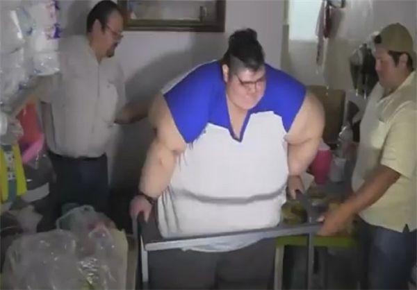 زندگی خوان پدرو چاق ترین مرد جهان