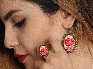 زیورآلات ایرانی با طرح گل از Taa Design