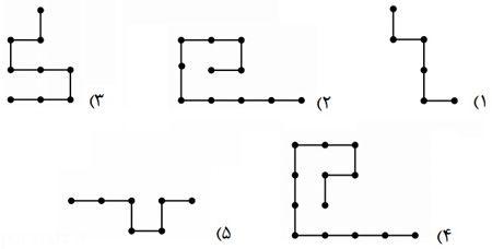 معما و آزمون هوش سیم های متصل به هم