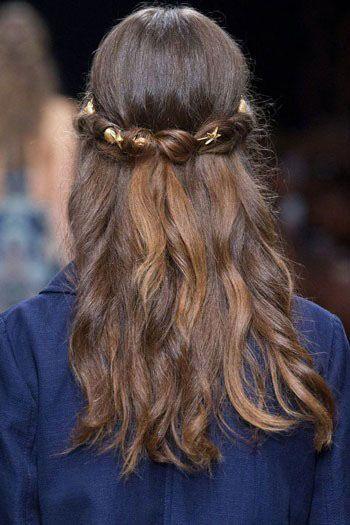زیباترین مدل مو عروس طبق مد روز
