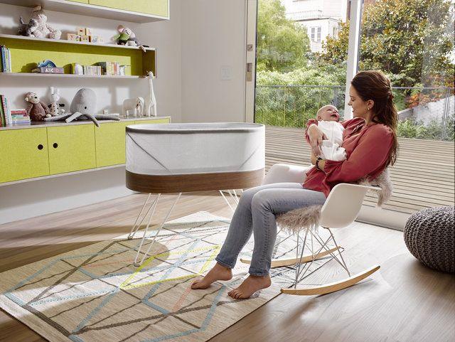 تختخواب هوشمند برای خواب راحت کودک