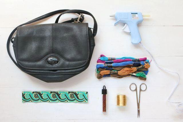 آموزش تصویری ساخت کیف منگوله دار