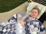 دختر زیبای خفته که 6 ماه از سال خواب است