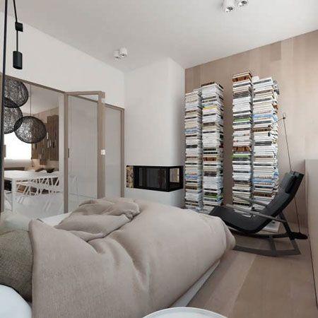 دکوراسیون خاص و زیبا برای آپارتمان تک خوابه