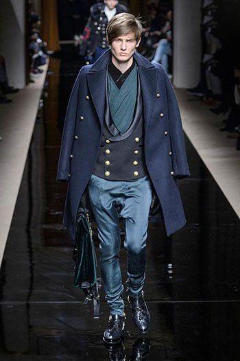 برترین مدل های لباس زمستانی مردانه 2017 (Balmain)