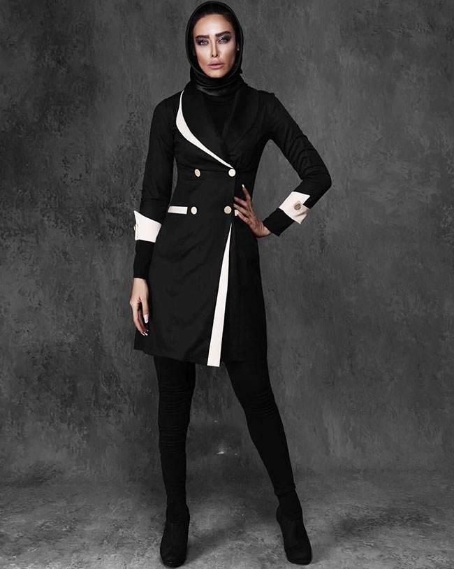 بهترین مدل های مانتو زمستانه برند ایرانی Vayo